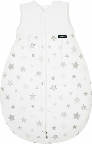 ALVI Thermo Schlafsack Stars silbergrau 90 cm