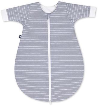 Julius Zöllner Jersey Winterschlafsack grey stripes