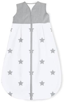 Pinolino Sommer-Schlafsack Sternchen grau
