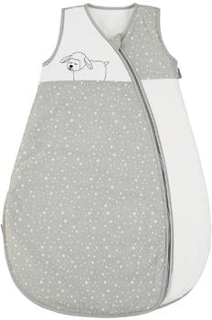 Sterntaler Sommer-Schlafsack Stanley grau/weiß