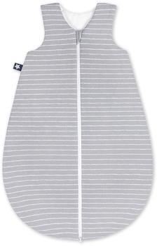 Julius Zöllner Jersey Baby Sommerschlafsack Grey Stripes