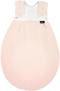 Alvi Frühchenschlafsack Außensack Super-Soft rose stripes