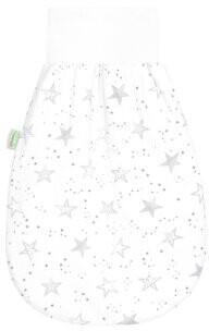 Odenwälder BabyNest Jersey-Schlafnestchen scribble stars grey