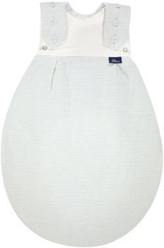 Alvi Frühchenschlafsack Außensack Super-Soft bleu stripes