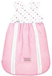 Odenwälder BabyNest 4allSeasons-Schlafsack 2-tlg. Clima Balance weiß/pink