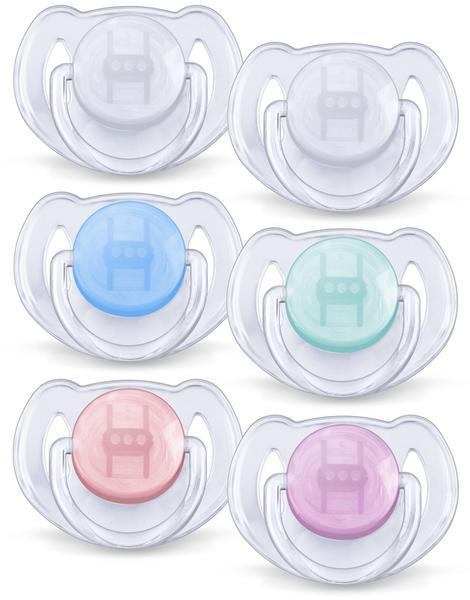 Philips Classic Pacifiers SCF170/22 BPA-frei Silikon Gr. 2 2 Stk. sortiert