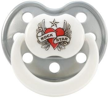 Rock Star Baby Hearts & Wings Silikon 3-24 Monate