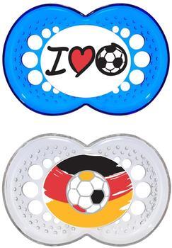MAM Original Silikon (6 - 16 Monate) Fußballfan