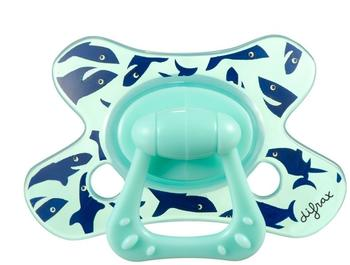 Difrax Natural Schnuller 18+ Monate, Junge lachende Haie