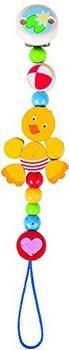 Heimess Schnullerkette Ente (5180)