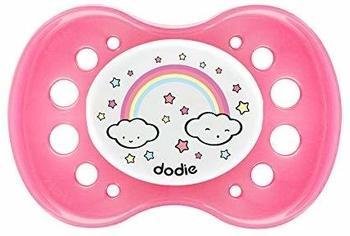 Dodie Dodie–2107883–Schnuller Silikon ohne Ring–18Monate +