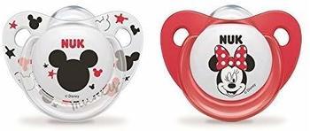 Nuk 2Schnuller Disney Minnie 6–18Monate