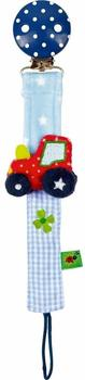 Die Spiegelburg Babyglück Schnullerband Traktor