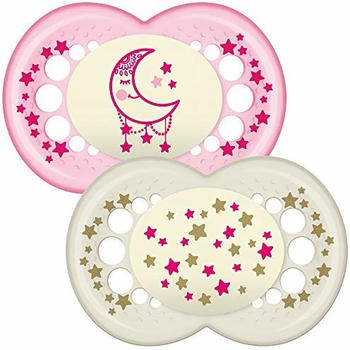 MAM Night Time Baby Soothers