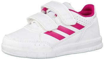 Adidas AltaSport CF I footwear white/bold pink