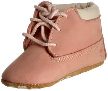 Timberland Crib Bootie with Hat pink