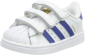 Adidas Superstar CF I white/Eqtblu/white