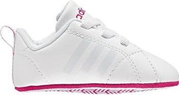 Adidas NEO VS Advantage Crib ftwr white/ftwr white/bold pink