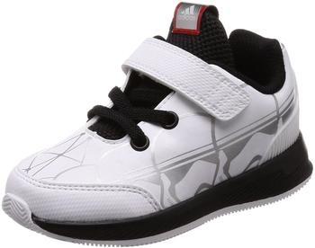 Adidas Rapidrun I ftwr white/core black/scarlet