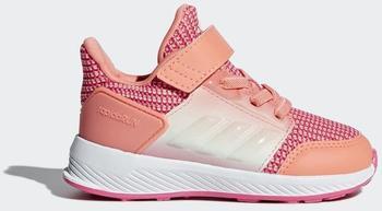 Adidas RapidaRun I chalk coral/ftwr white/real pink