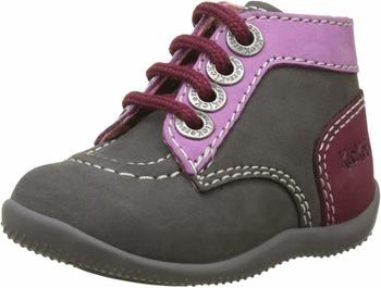 Kickers Bonbon grey/pink