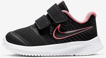 Nike Star Runner 2 Infants Trainers Black/Black/White/Sunset Pulse