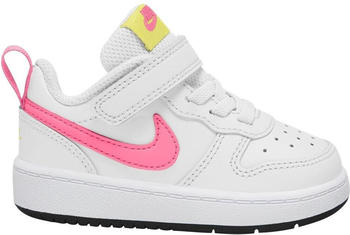 Nike Court Borough Low 2 TD white/light zitron/black/sunset pulse