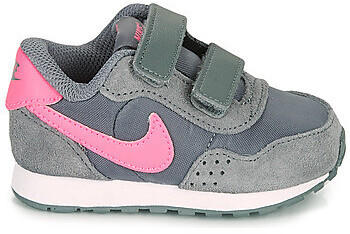 Nike MD Valiant Infant Shoe smoke grey/pink glow/white
