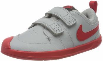 Nike Pico 5 TD Light smoke grey/dark smoke grey/white/university red