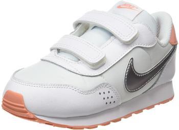 Nike MD Valiant Infant Shoe white/crimson bliss/metallic silver