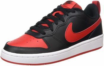 Nike Court Borough Low 2 black/white/university red