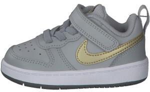 Nike Court Borough Low 2 lt smoke grey/metallic gold star/iron grey