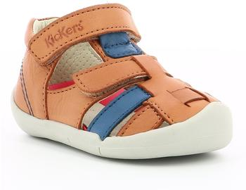 Kickers Wasabou brown/blue
