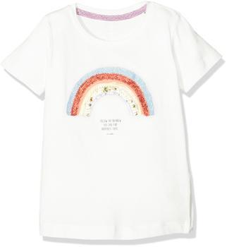 Tom Tailor T-Shirt platzierter Druck Jersey-Shirt weiß (10364464081)