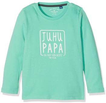 Tom Tailor T-Shirt platzierter Druck Baby-Shirt grün (10364490022)