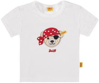 Steiff T-Shirt kurzarm Pirat weiß (6102123)