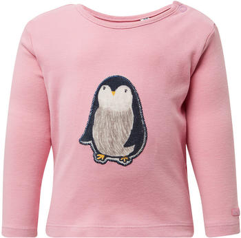 Tom Tailor Langarmshirt mit Pinguin-Print (60000311) pink