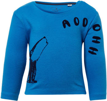 Tom Tailor Langarmshirt mit Wolfs-Print (60000305) blue