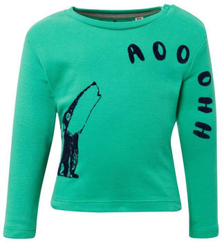 Tom Tailor Langarmshirt mit Wolfs-Print (60000305) green
