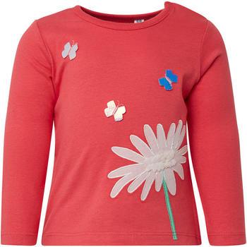 Tom Tailor Langarmshirt mit Print vorne (60000992) red