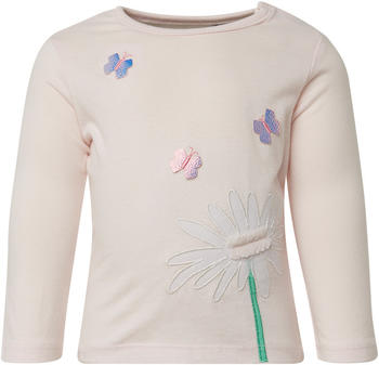 Tom Tailor Langarmshirt mit Print vorne (60000992) pink