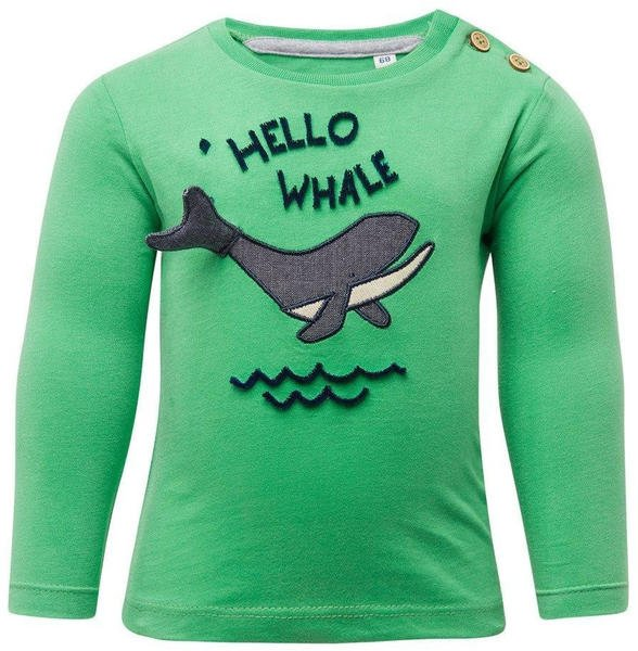Tom Tailor Langarmshirt mit Brust-Print (60000995) green