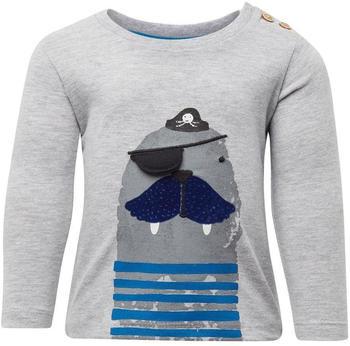 Tom Tailor Langarmshirt mit Print (60001004) grey
