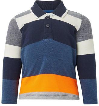 Tom Tailor Gestreiftes Poloshirt (60001091) blue