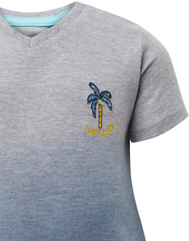 Tom Tailor T-Shirt mit Stickerei (60001521) grey