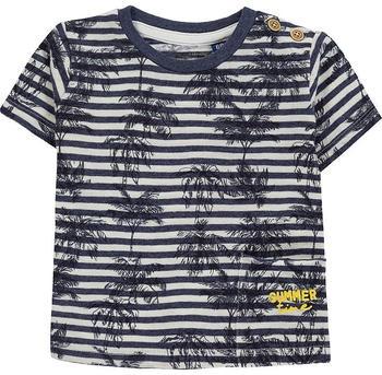 Tom Tailor Gemustertes T-Shirt (60001532) blue