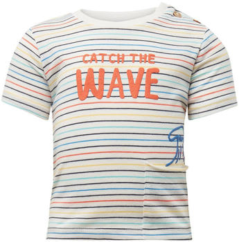 Tom Tailor Gemustertes T-Shirt (60001532) orange