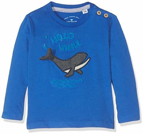 Tom Tailor Langarmshirt mit Brust-Print (60000995) nautical blue