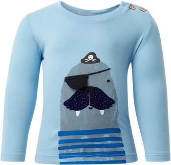 Tom Tailor Langarmshirt mit Print (60001004) light blue