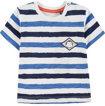 Tom Tailor Gestreiftes T-Shirt (60001470) blue striped